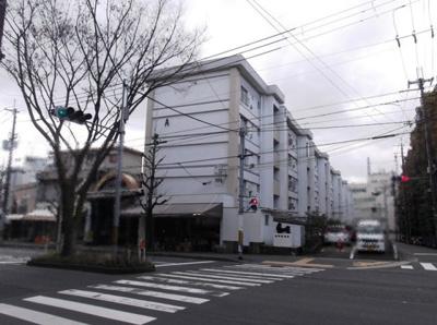 【外観】修学院住宅 A棟 5階
