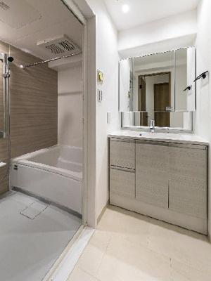 【独立洗面台】エンゼルハイム西大島 1階 リノベーション済