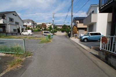【前面道路含む現地写真】宮本町売地