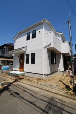 【前面道路含む現地写真】北中新築一戸建住宅