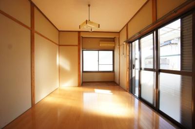 【居間・リビング】大利根町貸住宅