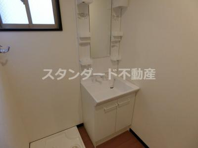 【洗面所】みおつくし堂島Ⅱ