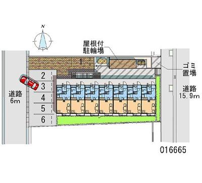 【駐車場】レオパレス三田ウチダ