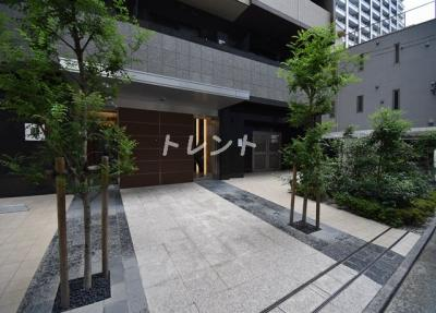 【エントランス】コンシェリア芝公園TOKYO PREMIUM