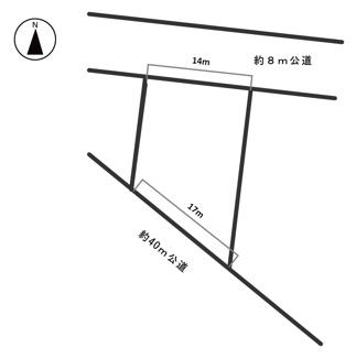 【区画図】54146 岐阜市宇佐南土地
