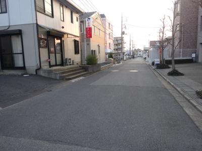 前面道路(入口付近)