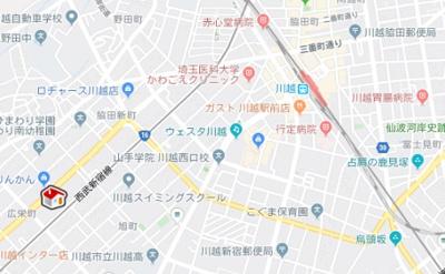 【地図】レオパレスローレル (25340-206)
