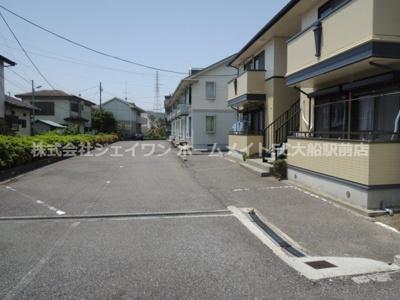 【駐車場】グランデュール鎌倉