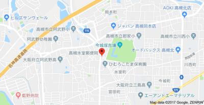 【地図】メゾンあぶの (株)Roots