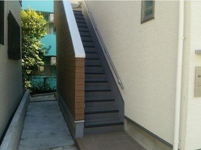 堀切イリスタワー31Fの階段☆