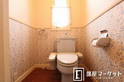 【トイレ】梅坪町戸建住宅