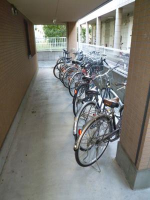 入居者用駐輪場