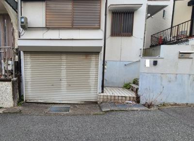 【駐車場】神戸市兵庫区熊野町3丁目 中古戸建