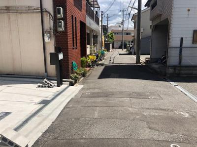 【前面道路含む現地写真】マザーハーツ新今里6丁目 Part1 1区画