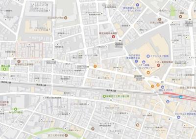【地図】ラフィスタ東武練馬
