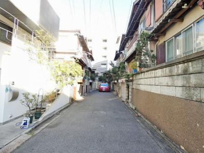 【前面道路含む現地写真】阿倍野区丸山通2丁目中古戸建