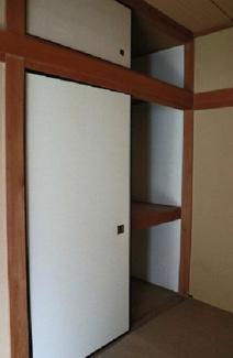 【収納】阿倍野区丸山通2丁目中古戸建