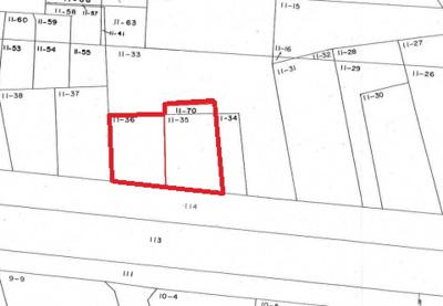 【区画図】羽生市東8丁目の売地