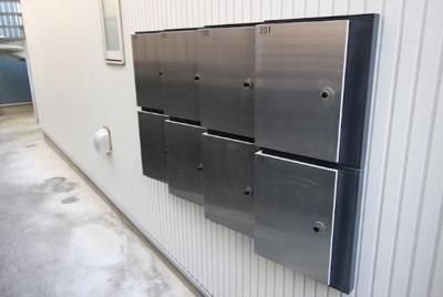 共用スペース・メールボックス。