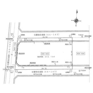 【土地図】姫路市広峰1丁目/売土地