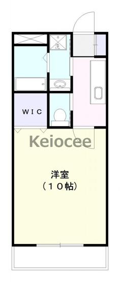 【間取り】成田市並木町アパート