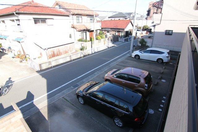 【展望】カーサウーノ駐車場