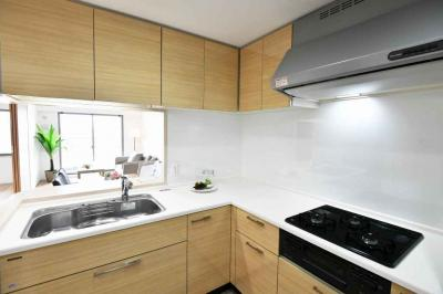 【キッチン】リバーガーデンECOシティアリスの森