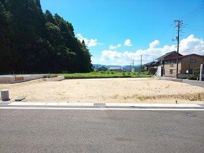 【区画図】鳥取市国府町奥谷分譲地 1号地