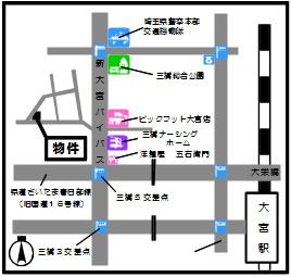 【地図】MRハイツ (エムアールハイツ)
