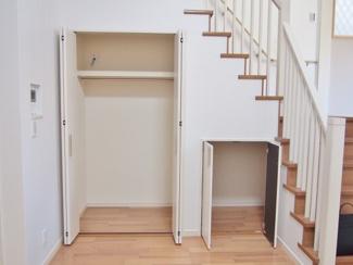 【当社施工例】 階段下も有効活用!
