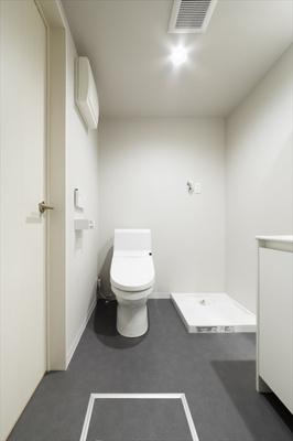 クアルソ稲毛のトイレ