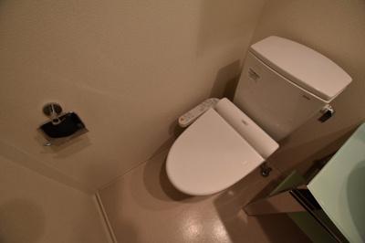 【トイレ】エステムコートナンバサウスプレイスファイブエレージュ
