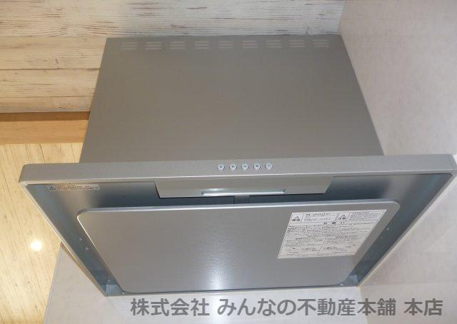 【キッチン】鳥栖小学校校区 無垢材使用した新築戸建