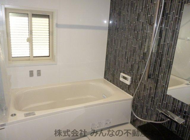 【浴室】鳥栖小学校校区 無垢材使用した新築戸建