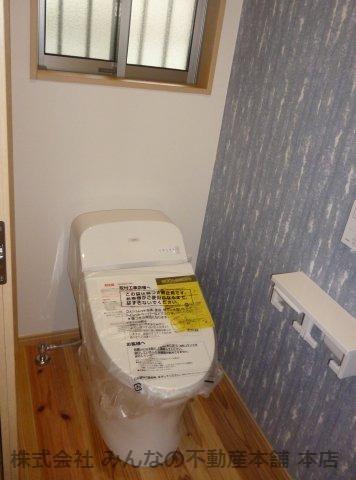 【トイレ】基里小学校徒歩2分 本物の木の家