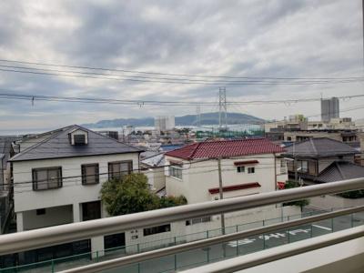 明石大橋一望☆神戸市垂水区 メゾンオルタンシア霞ヶ丘☆