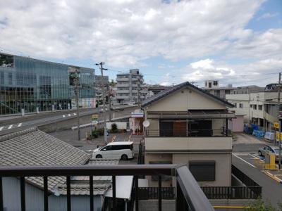 バルコニーからの眺望☆神戸市垂水区 コスミック 賃貸☆