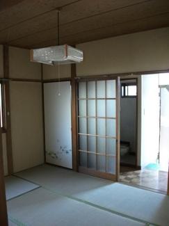【居間・リビング】藤コーポ
