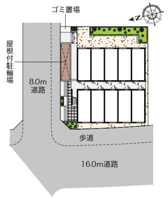 【地図】高島平レジデンスA