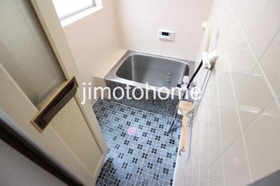 【浴室】三軒家西3貸家