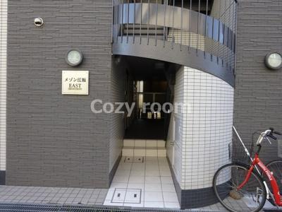 マンション入口です