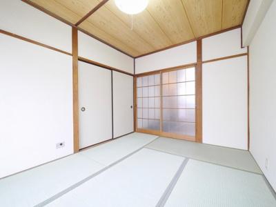 和室はゆっくりくつろげますね