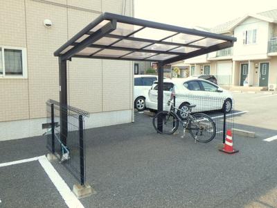 駐輪場 人気の積水ハウス施工『シャーメゾン』