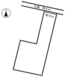 【区画図】54204 養老郡養老町土地