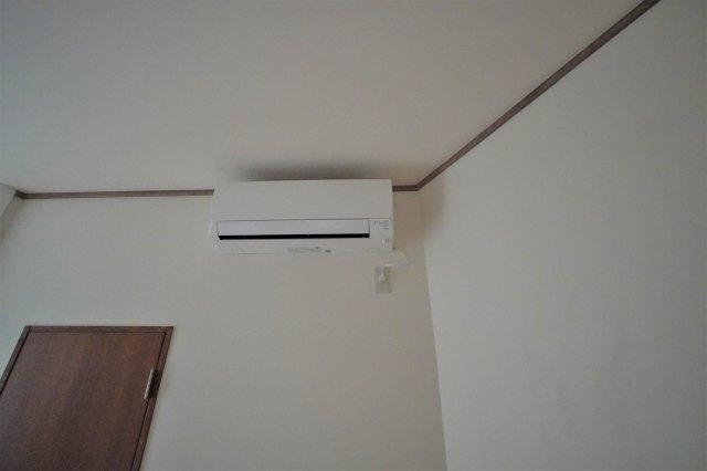 全室にエアコン完備。