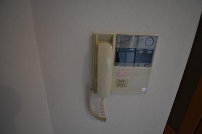 TVモニター付インターホンです。