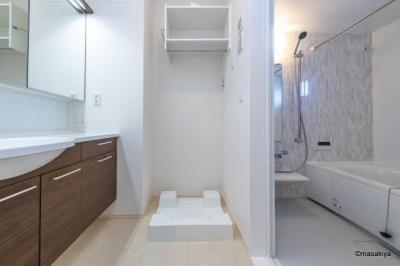 洗面・脱衣 室内洗濯機置場