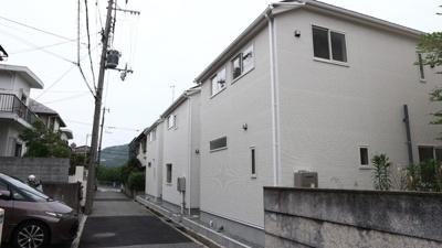 【前面道路含む現地写真】神戸市垂水区青山台2丁目 3号棟 新築戸建