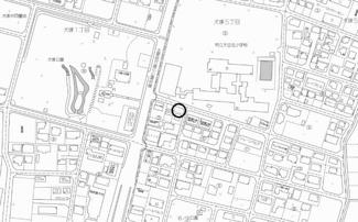 【地図】小山市犬塚五丁目・売地