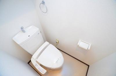【トイレ】シャトーアスティナ高麗橋
